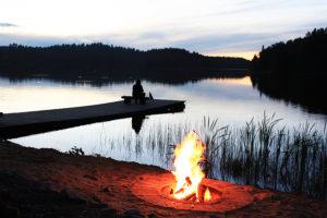 Отдых у озера Лахденпохья